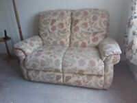 Two seater fabric sofa in very good condition having had little use