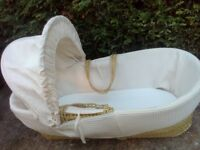 FREE moses basket and stand