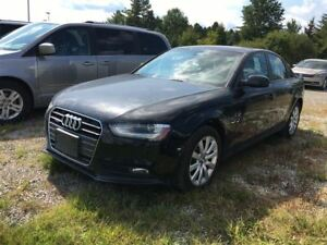 2013 Audi A4 2.0T QUATTRO / LEATHER / SUNROOF
