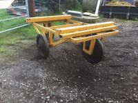 Timber Transporting Trolly/ Trailer