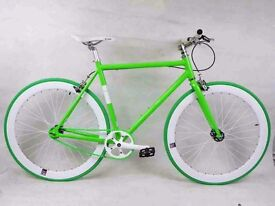 New NOLOGO Aluminium single speed & fixie bike/ road bicycles + 1year warranty 91ab