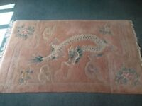 Premium Quality Chinese Sculpted Wool Rug