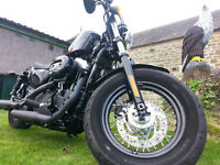 harley davidson 48..2011 low low miles 106 basically a new bike !!!!!!!!!!