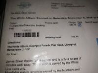 Beatles white album 50 year concert