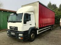 MAN 18t Curtain Sided Lorry For Sale