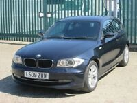 2009 (09 reg), BMW 1 Series 2.0 118d SE 3dr