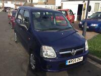 Vauxhall agila 1.0 expression 2005 facelift model 5 door mpv mot April 39000 genuine miles history