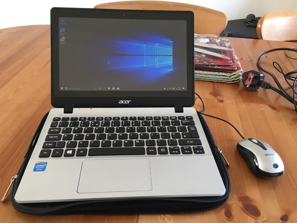 Acer Notebook, touchscreen, 4megs Ram, 300gig hard drive.