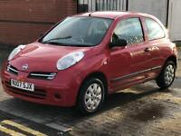 Nissan Micra 1.2 3 door, clean tidy car MOT 2.2.18, reliable & cheap