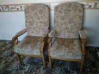 Two chairs only £20 for the pair!