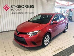 2014 Toyota Corolla LE,BAS KILOMÉTRAGE,CAMERA DE RECUL
