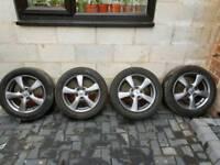 Honda mk8 5x114 16inch alloys