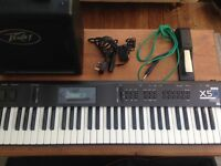 Great Condition Korg x5D , Peavey Kb1 , and Gig Bag