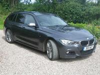 BMW 335D, Xdrive, M Sport, Touring, 5 Door, Semi-Auto (28/07/2015)