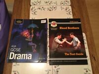 In good condition pair of GCSE drama revision guide books