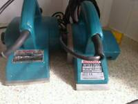 Electric power planers