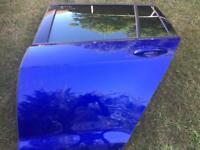 Golf r mk7 rear door blue passenger side