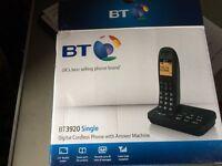 BT 3920 Single Phone with Answerphone