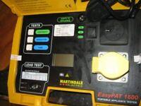 Martindale EasyPat 1600 pat tester in working order