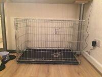 Large Dog Crate 2 Door