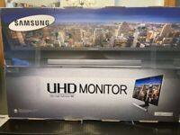 "Samsung UHD 4K monitor 28"""