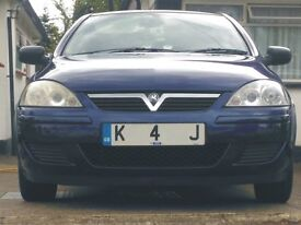 corsa c 1.4 sri, manual, petrol, blue, 2004