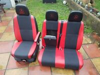 vw crafter driver seats and passangers