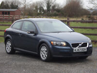 2007 VOLVO C30 1.6 DIESEL S **LOW MILEAGE & 1 YEAR'S MOT**