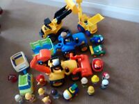 ELC tractor, digger and other make vehicles