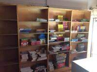 Adjustable Retail Quality plywood Shelving