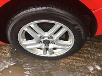 Ford wheel alloys brand new tyres 205 55 16 16 inch