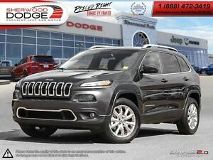 2016 Jeep Cherokee LIMITED   UCONNECT   HEATED SEATS   BLUETOOTH