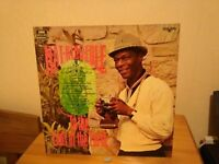 Nat King Cole long play vinyl record.