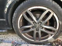 ATS Temperament alloy Rims and Tyres x 3