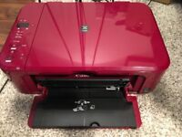 Canon Printer and Scanner- Pixma MG3150- Wine Red (HALF PRICE)