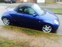 FORD STREET KA CONVERTIBLE LEATHER SEATS