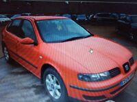 Diesel Seat Leon 2004 with Long mot ,good on fuel ,px welocme