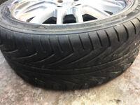 "Peugeot 107 108 Volvo 340 440 460 480 Alloy wheels 17"" inch alloys wheel 205 40 17"