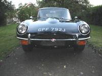 1970 JAGUAR E TYPE 4.2 CLASSIC BRITISH. SPORTS CAR