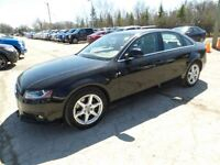 2009 Audi A4 Quattro Premium sedan with low kms Winter and Summ