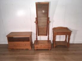 Solid Pine Furniture Set with free delivery within London
