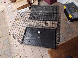 2 pet cages