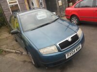 SKODA FABIA ESTATE 04 REG 1.9 SDI DIESEL APRIL TEST BIRTLEY CAR SALES DH3 1PR