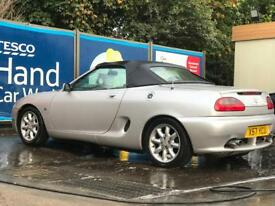 MGF Convertible in silver