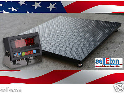 New 1000 Lb X .2 Lb 5x7 60 X 84 Floor Scale Heavy Duty Industrial