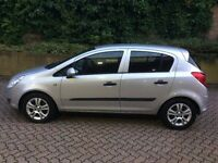 57 REG VAUXHALL CORSA 1.2 BREEZE PETROL MANUAL 5 DOOR 1 LADY OWNER F/S/H 12/M M.O.T AA ASSURED V/G/C