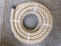 40mm synthetic decking rope x 14 metres, brand new, garden rope, decking projects