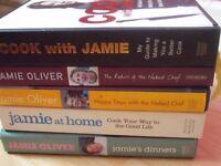 5 Jamie Oliver books