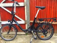 New Electric bike foldable with reciept & service folding ebike RRP £900 not Brompton raleigh hybrid