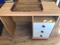 Dressing table desk